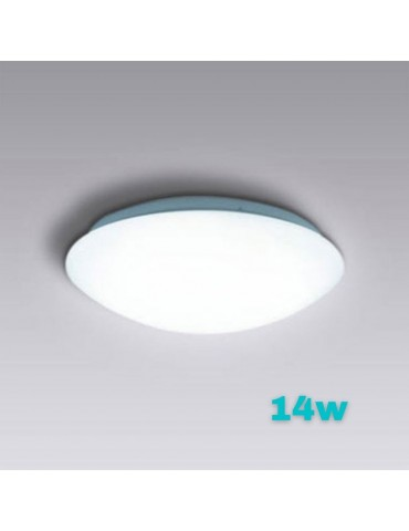 Plafón Led Circular 14W de superficie