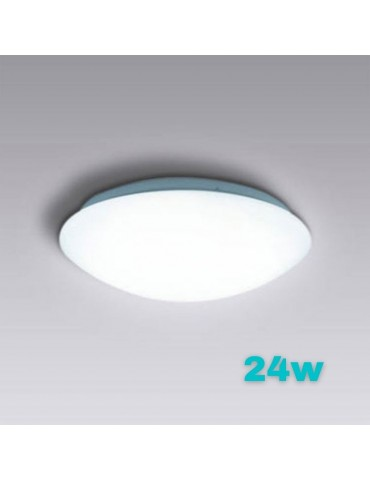 Plafón Led Circular 24W de superficie led integrado