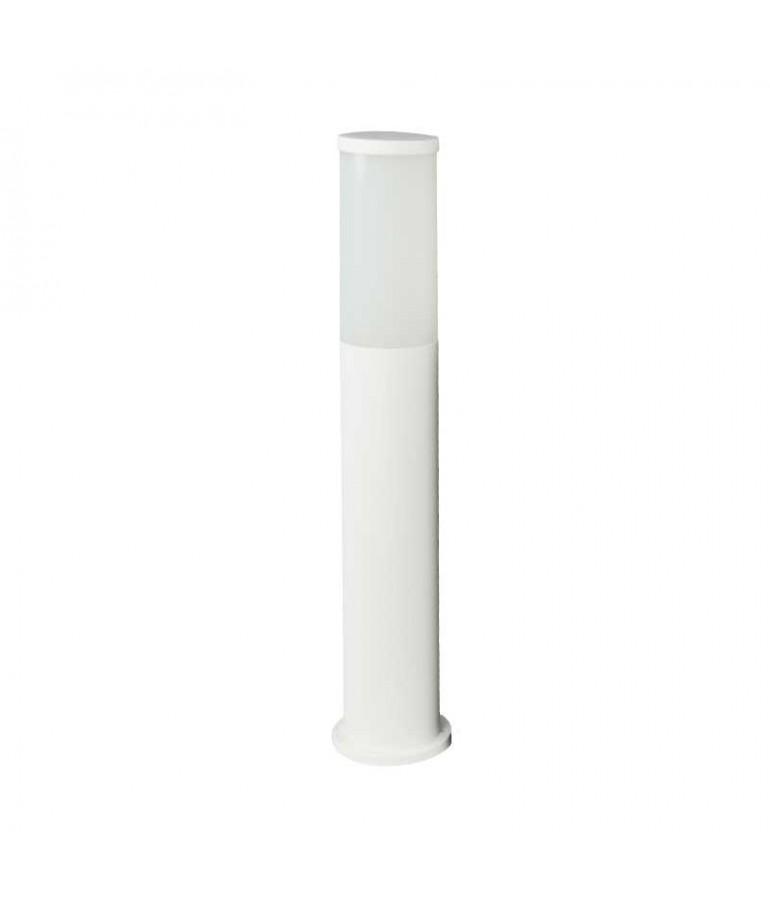 Baliza Redonda ZEZA 581mm E27 Resina Blanca