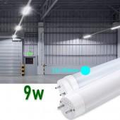 Tubo LED T8 60cm 9W Cristal 360°Luz fría