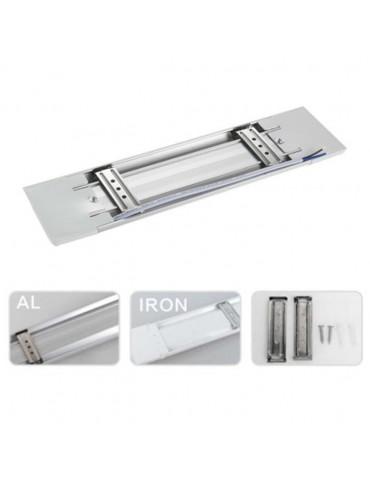 REGLETA LED SLIM 40W 120cm Aluminio+PC Detalles