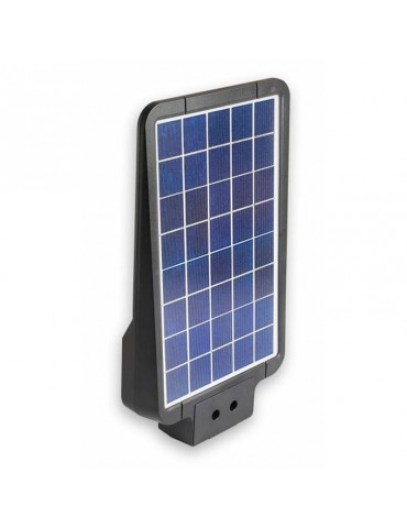 Luminaria solar LED 15W sensor movimiento placa solar