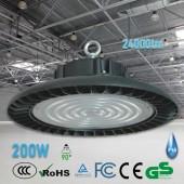 CAMPANA INDUSTRIAL LED UFO 200W IP65 ALUMINIO 6000K 24000lm