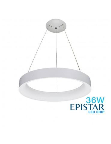 Lámpara Colgante Decorativa LED Circular 36W Ø60cm