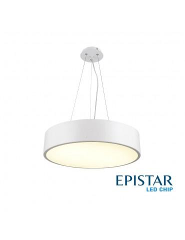 Lámpara Colgante Decorativa LED Circular 26W Ø40cm