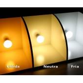 Pack 10 LED Esférica 5,5W E27 HTPC+Aluminio 220°