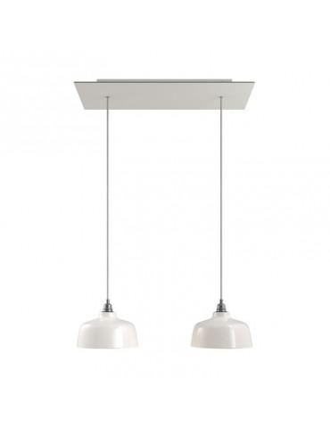 Lámpara colgante DEIA blancocaídas de diseño italiano