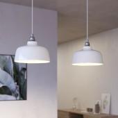 Lámpara colgante DEIA 2 caídas de diseño italiano