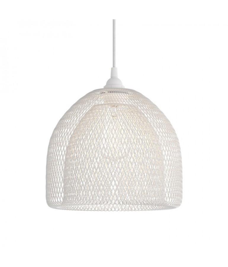 Lámpara colgante GABBIA  blanca