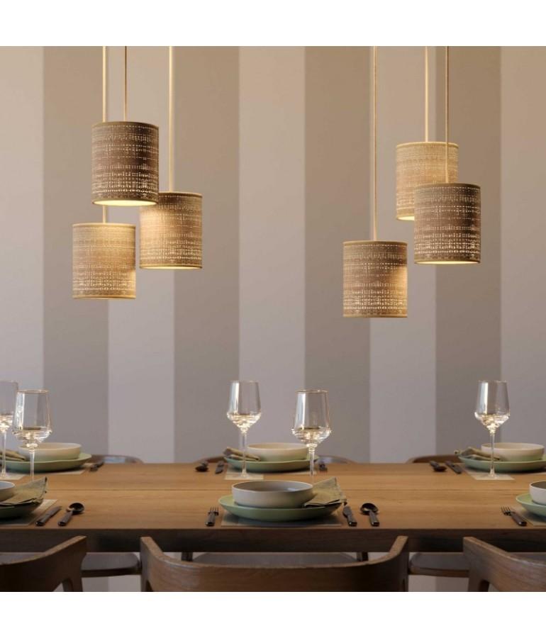 Lámpara colgante RAFFIA de diseño italiano