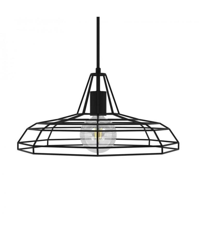 Lámpara colgante TWEET de diseño italiano negra