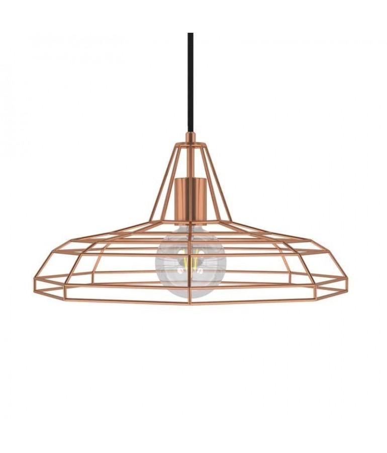 Lámpara colgante TWEET de diseño italiano cobre