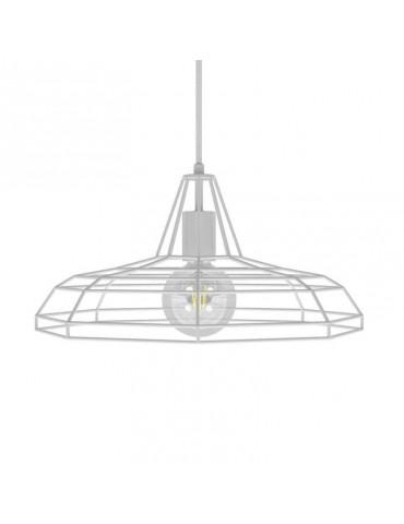 Lámpara colgante TWEET de diseño italiano blanca