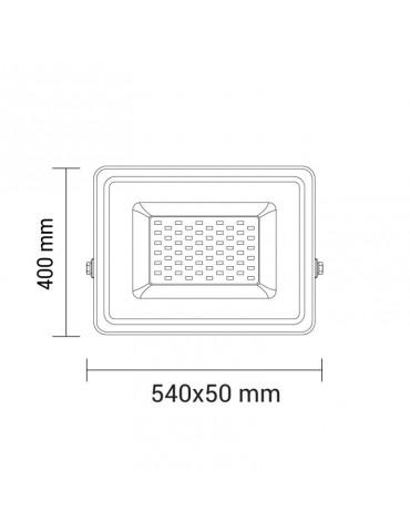 Foco Proyector LED PRO 300W SMD 150º dimensiones