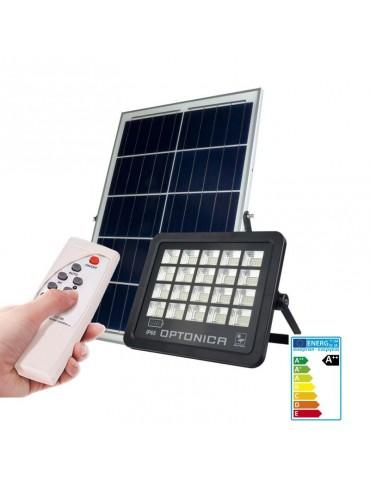 Foco Proyector Solar LED 100W Mando Placa Solar