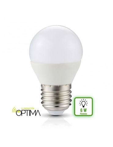 Bombilla LED Esférica G45 6W E27 HTPC