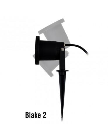 Orientación Foco pincho de Jardín aluminio GU10 BLAKE 2