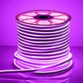Rollo de TIRA DE LED NEÓN AC230V 14,4W/m IP65 120°LILA SMD3528 impermeable