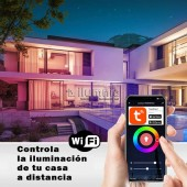 Enchufe SMART HOME controlable por WiFi APP Tuya