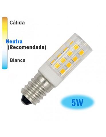 LED TUBULAR 5W E14 Cristal 360° 4200k