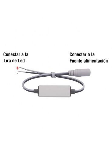 Mini Controlador Tira leds 12v mando RC 8 PROGRAMAS conexiones
