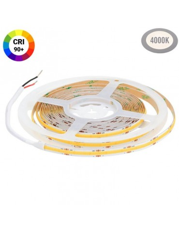 Tira Led COB 24VDC Luz Neutra 10W/m IP20