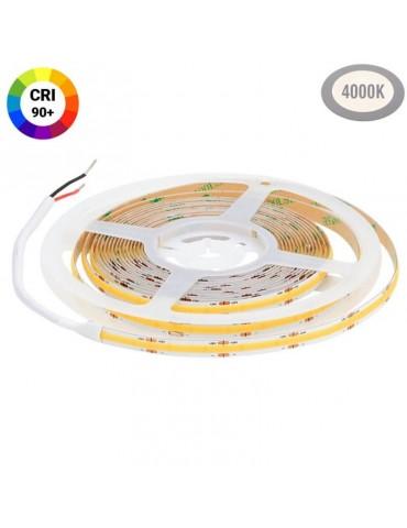 Tira Led COB 24VDC Luz Neutra 12W/m IP20