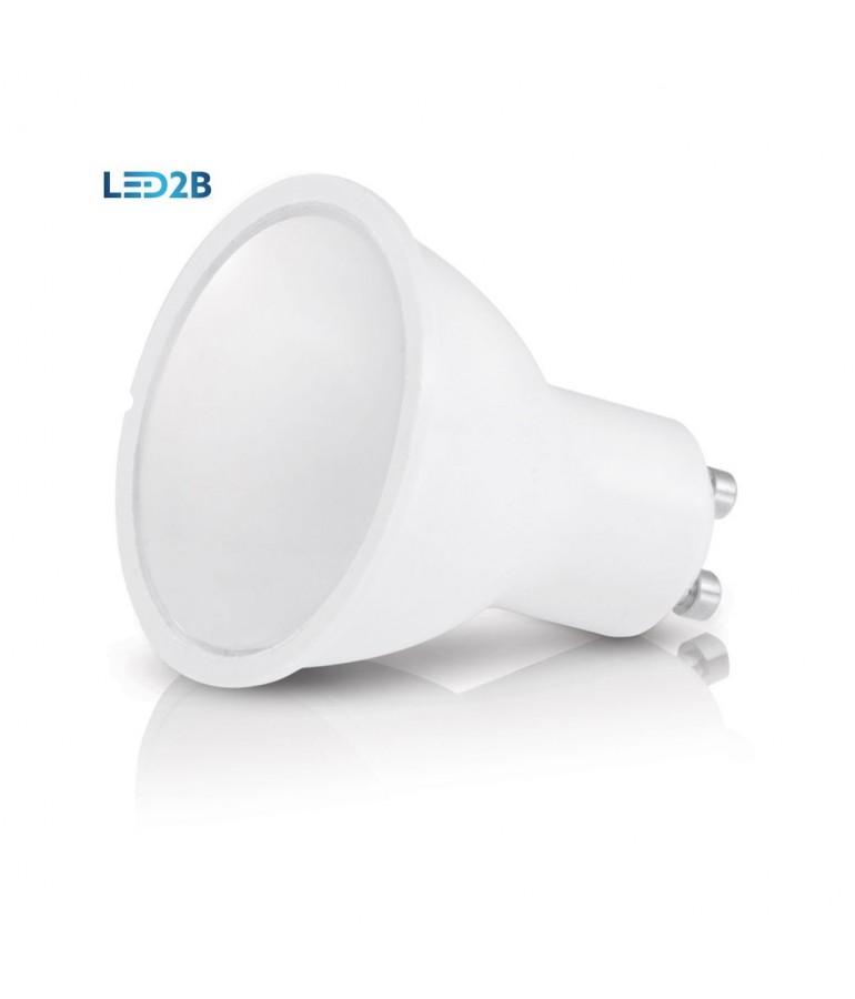 LED dicroica GU10 4W 230V HTPC Aluminio