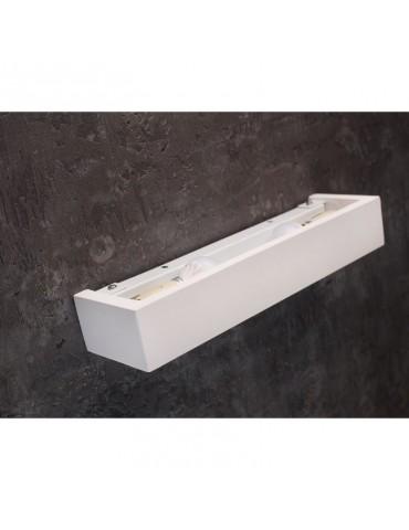 Aplique pared yeso rectangular modelo VELOCE 2xE14