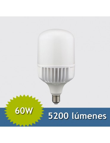 BOMBILLA INDUSTRIAL LED 60W E27 T120