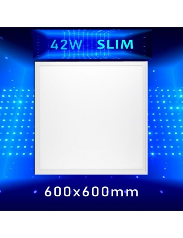 PANEL LED SLIM 42W 600x600mm