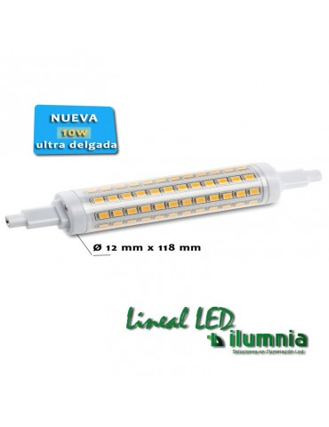 Lineal R7S Multiled 10W 118 mm Ceramic