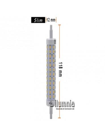 Lineal R7S Multiled 10W 118 mm Ceramic dimensiones