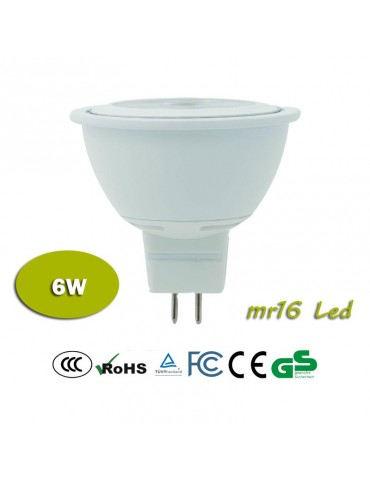 LED dicroica MR16 Multiled 6W 12V HTPC Aluminio