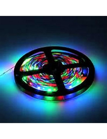 TIRA DE  LED RGB 12VDC 14,4W IP20 60LEDS  SMD5050 flexibles adhesivas