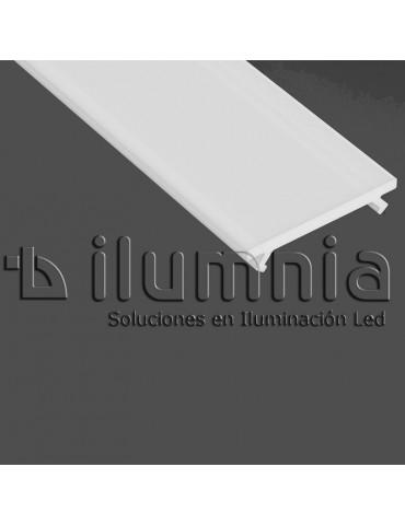 DIFUSOR GLASEADO BASIC PERFIL ALUMINIO