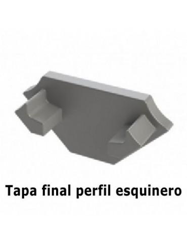 Tapa final perfil ESQUINERO Tira led