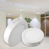 PANEL LED Downlight circular 6W plano de superficie