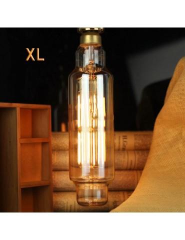 LED VINTAGE RETRO GIGANTE XL TT80 8W E27 230V CRISTAL 360°