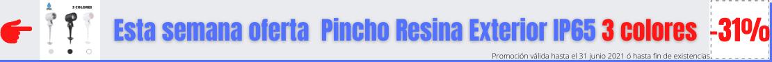 Pincho Resina Exterior