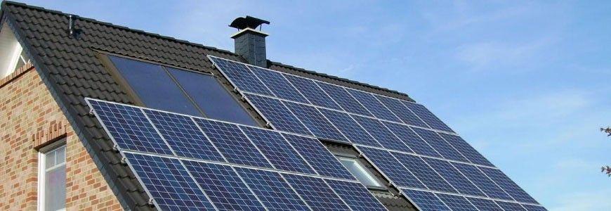 Energía renovable para iluminar una vivienda