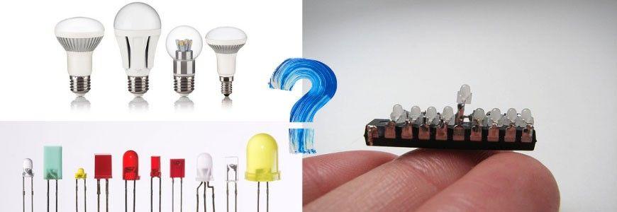 ¿Qué es un diodo LED?