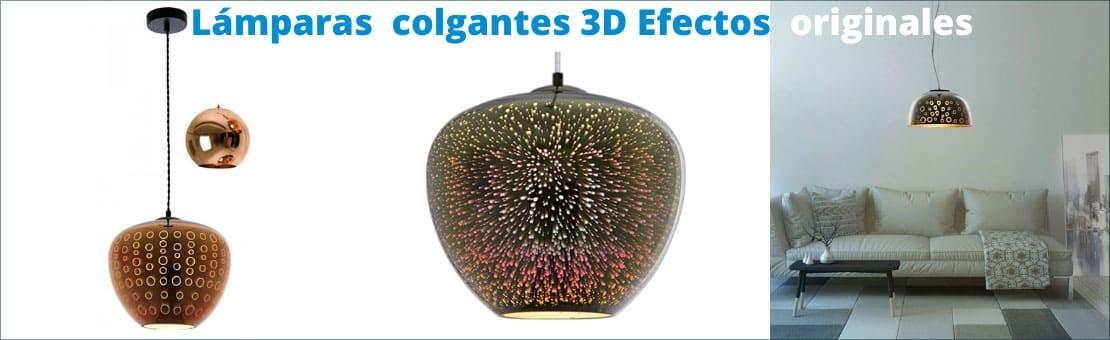 Nuevas lámparas de techo efecto 3D